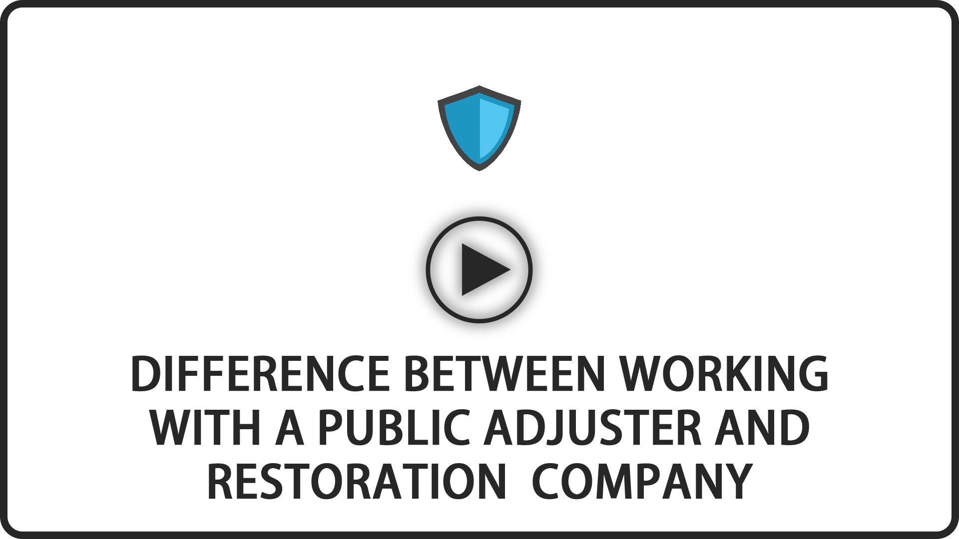 Difference Between Working With a Public Adjuster and Reservation Company